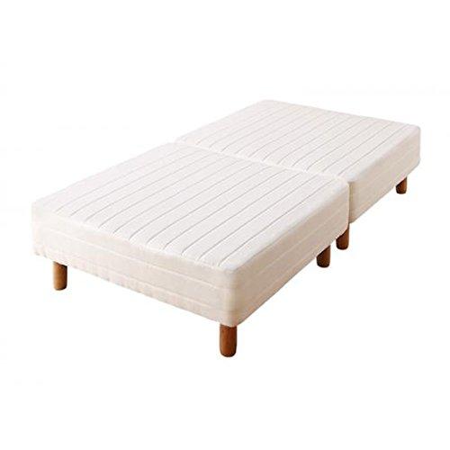 分割式・ショートタイプ・脚付きボンネルコイルマットレスベッド