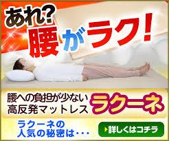 【腰痛対策】ラクーネ