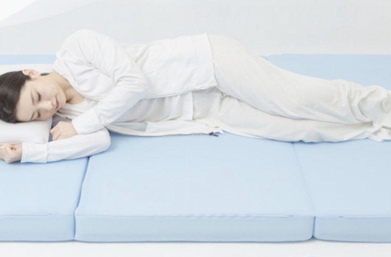 エアウィーヴZの睡眠画像