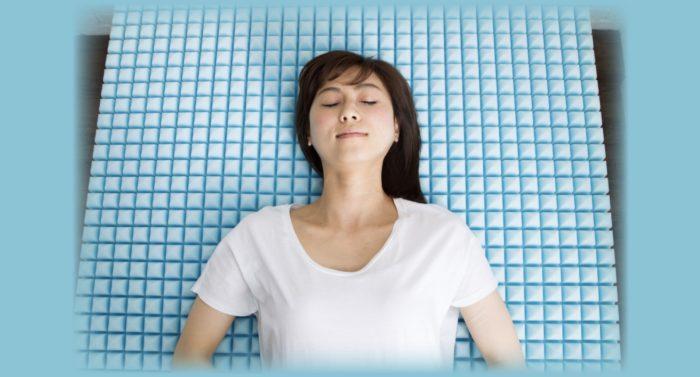 ゼロキューブマットレスの体圧分散