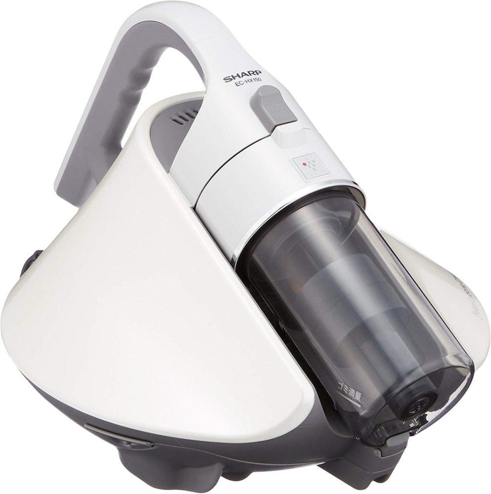 シャープ サイクロン ふとん掃除機 プラズマクラスター搭載 ホワイト EC-HX150-W
