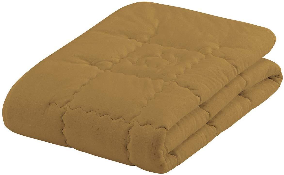 フランスベッド ベッドパッド シングル キャメル&ウールベッドパッド 日本製