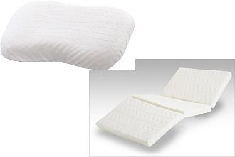 ウレタンフォームを応用した寝具
