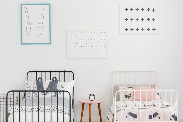 子供部屋のベッド