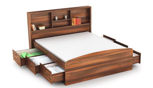 収納ベッドおすすめランキング8選|組み立て簡単なコスパ最高ベッド特集