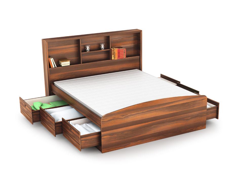 多機能収納ベッド