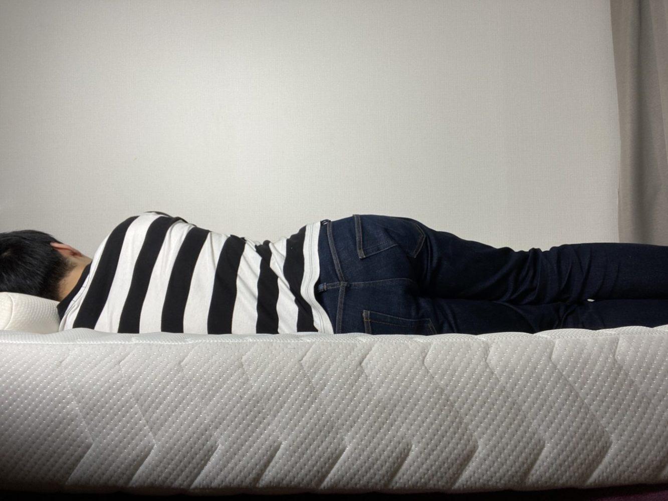 雲のやすらぎプレミアム・横向き寝