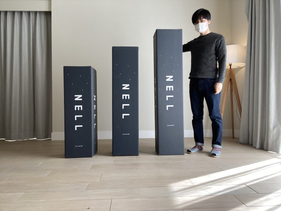 NELLマットレス・箱のデザイン