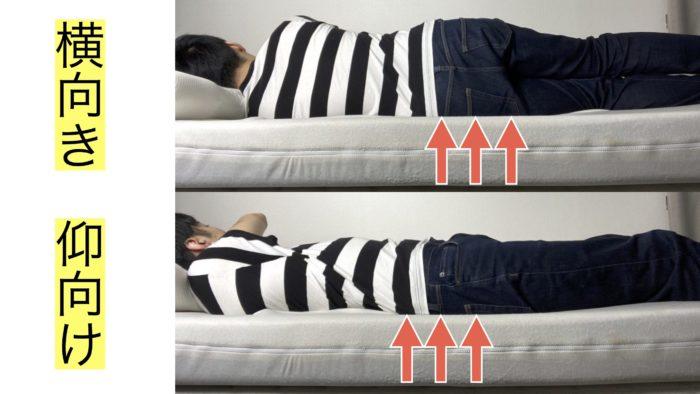 モットンの腰痛対策